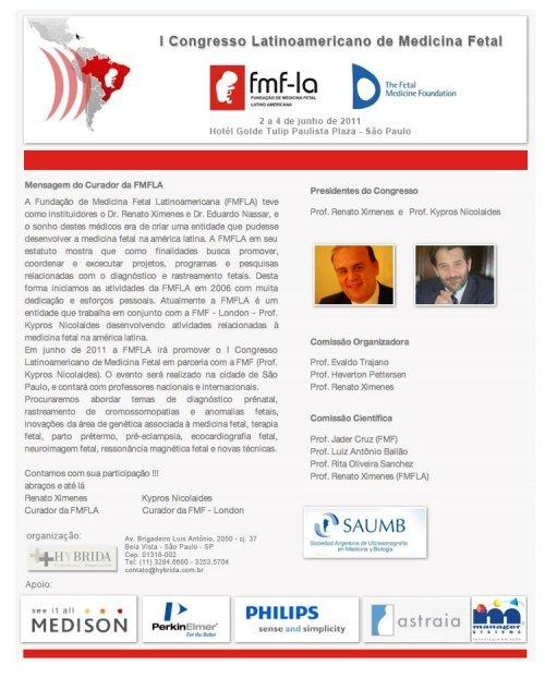 Congresso Latinoamericano de Medicina Fetal